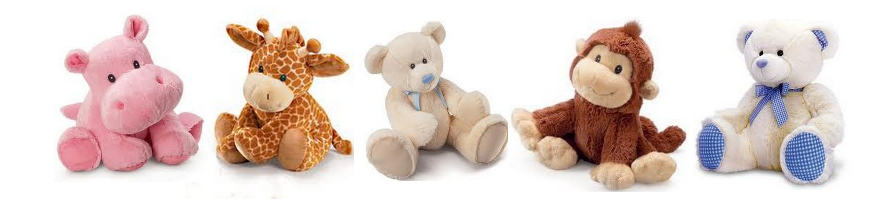 Newborn Baby and Toddler Personalised Bears and Animals