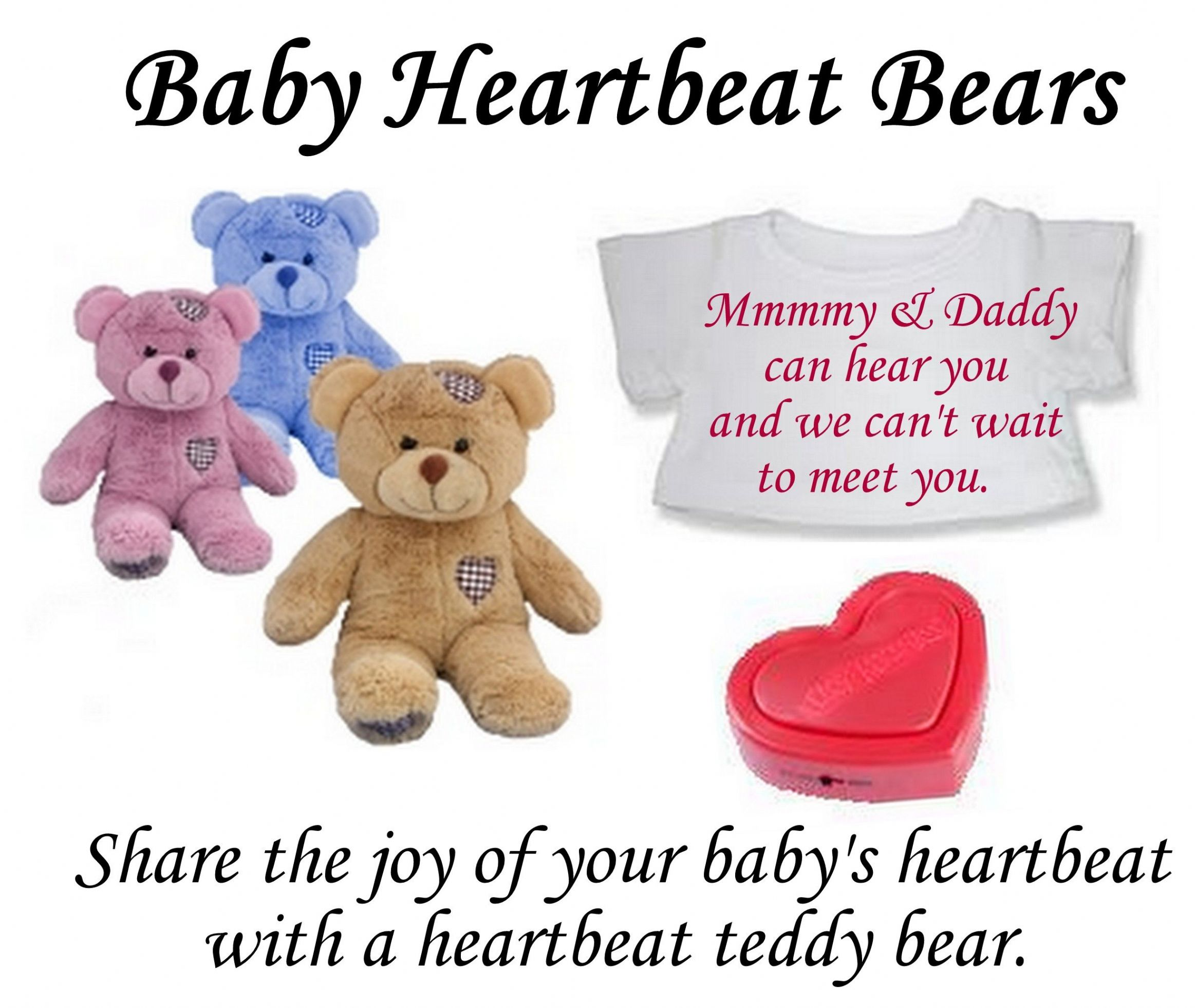 Baby Heartbeat Bears