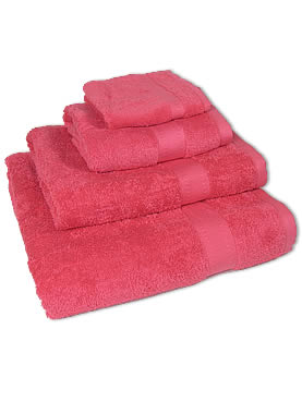 Hand Towel - Bright Pink