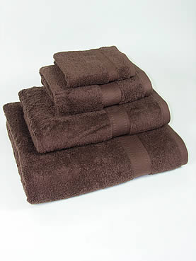 Hand Towel - Chocolate Brown