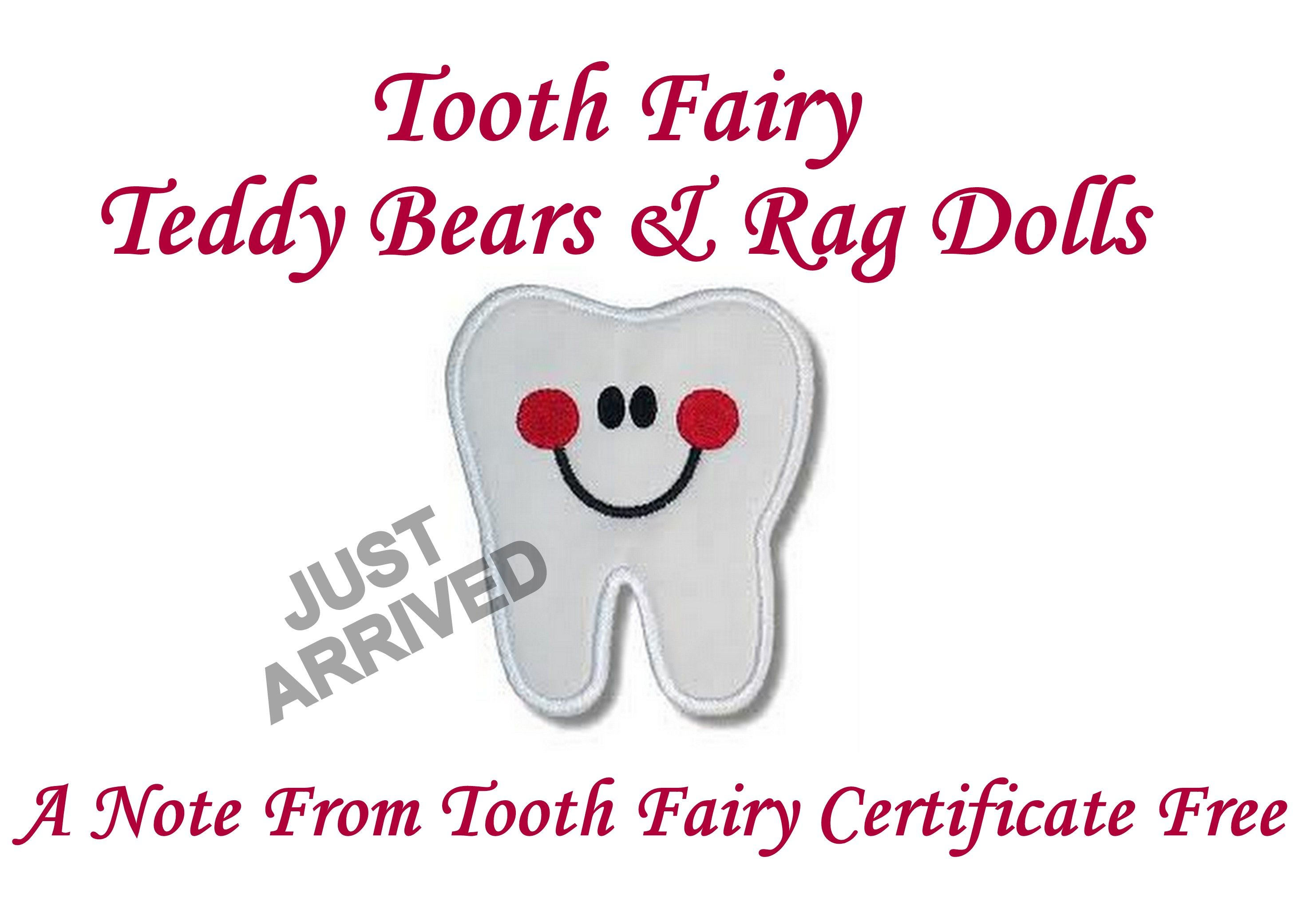 Tooth Fairy Teddy Bears & Rag Dolls