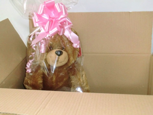 Personalised Teddy Bear in Box
